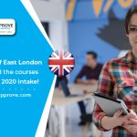 The University of East London has opened the courses for Jan/Feb 2020 intake