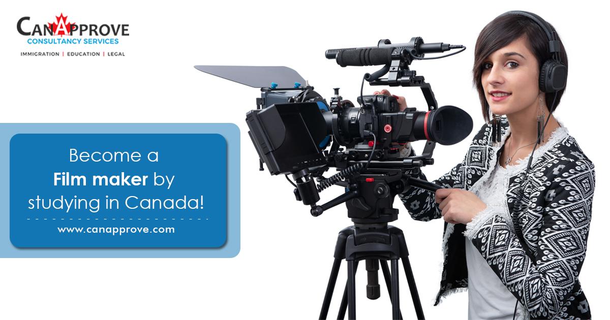 Film making courses in Canada Dec 02
