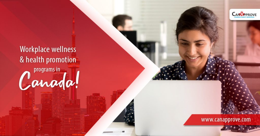 workplace wellness and health promotion programs in Canada May 26