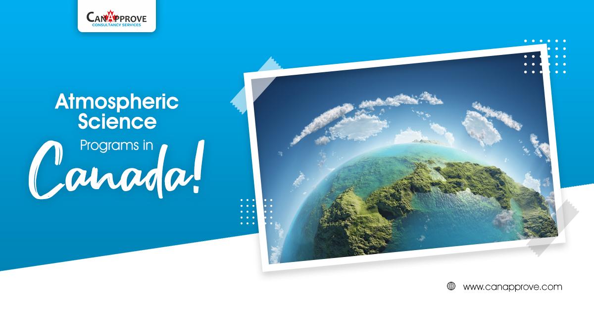 Atmospheric Science Programs in Canada June 13