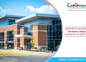 Fanshawe College is accepting applications for Jan 2020, Winter intake!