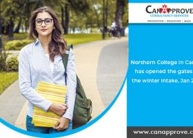 Northern College of Ontario in Canada has opened the gates for the winter intake, Jan 2020!